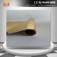 Металлизированная ПЭТ-пленка золотого цвета