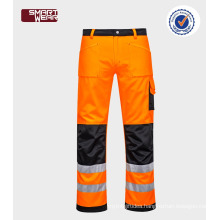 New products cheap safety trousers hi-vis reflective TC work cloth pant