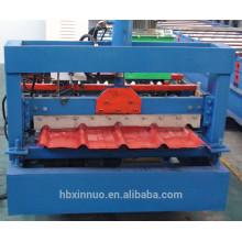 840 nouvelle conception galvanisé rouleau de tôle de toiture formant la machine