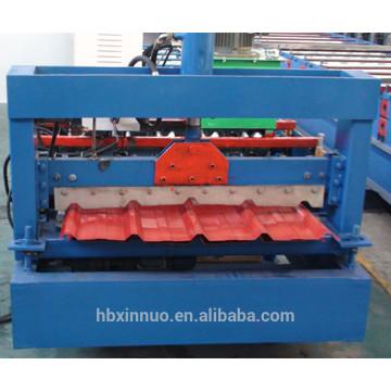 840 novo design galvanizado máquina de prensagem folha de telhado