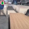 Tablero de MDF de chapa de teca natural 14 mm 8 mm