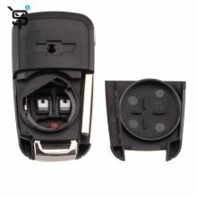 High quality  key shell remote  for chevrolet 5 button car folding remote key shell YS200435