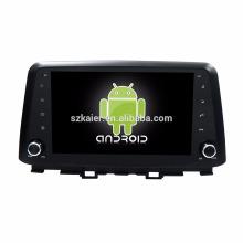 ¡Ocho nucleos! DVD del coche de Android 7.1 para Hyundai Kona 2017 con pantalla capacitiva de 9 pulgadas / GPS / Enlace espejo / DVR / TPMS / OBD2 / WIFI / 4G