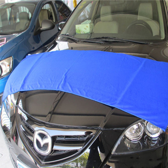twisted microfiber car towel