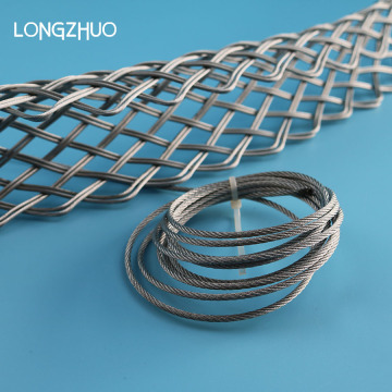 Stainless Steel Wire Mesh Cable Menarik Grip