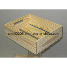 Présentoir bois caisse magasin