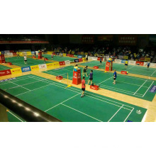 Bwf Certificate High Quality PVC Sports Flooring Used to Badminton Court 4.5mm