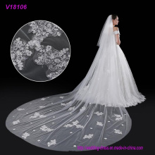 Großhandelsqualitäts-handgemachte Hochzeits-Brautschleier-Spitze-Brautschleier
