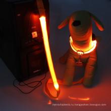Светодиодный USB аккумуляторная собака вороты любимчика Сид поводок собаки