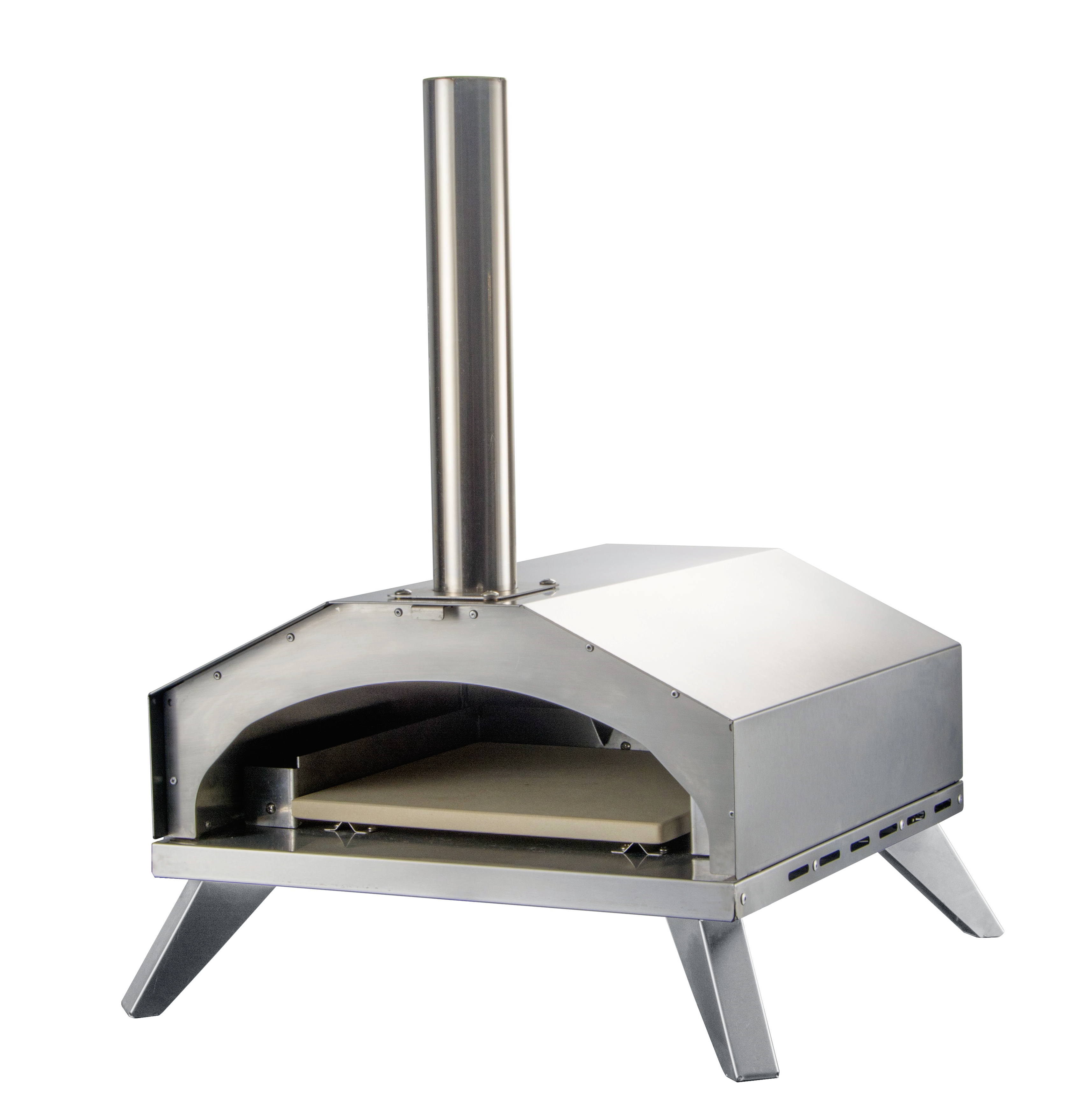 Stainless Steel Double Layers Pizza Oven