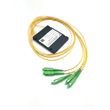 PLC 1 * 4 ABS BOX splitter sc apc connector