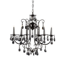 Modern Style Decorative Crystal Black Chandelier