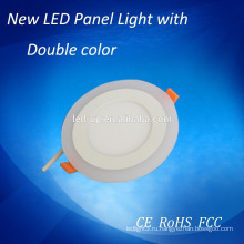 5w двойной цвет круглые светодиодные фары