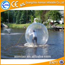 Sport lance les jeux de balle !! Boule de bulle balle d'eau / marche sur boule en plastique d'eau