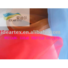 Polyester / Nylon Organza Fabric For Upholstery
