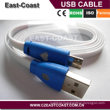 LED 3FT Smile Face Micro USB Data Sync Charger Cable
