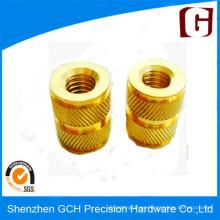 Precisión de piezas de latón personalizado CNC calidad de mecanizado