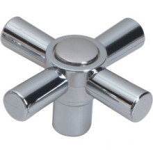 Poignée de robinet en plastique ABS avec finition chromée (JY-3065)