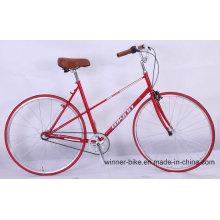Cro-Moly Frame Rétro Vintage Urban City Bike Vélo De Route