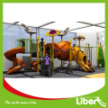 Dispaly Outdoor Slide China Juegos Infantiles (LE.QT.040)                                                     Quality Assured