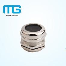 Conector de glándulas metálicas de níquel chapado en níquel PG25 con sellado, anillo a prueba de agua, UL94-V2 a prueba de firre