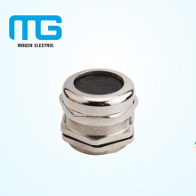 PG25 brass nickel -plated metalcable glands connector with Sealing ,water-proof ring , UL94-V2 firre proof