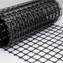 Geomalla de malla biaxial de plástico de polipropileno PP para calzada
