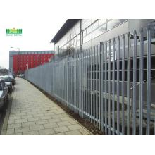 Galvanized+steel+palisade+fence