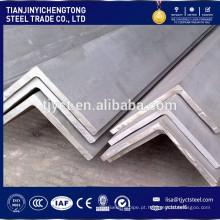 Ângulo de aço inoxidável ASTM A276 304 304L 316 316L 201