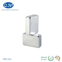 50 * 30 * 8mm N42 Materiales de tierra rara NdFeB Magnet