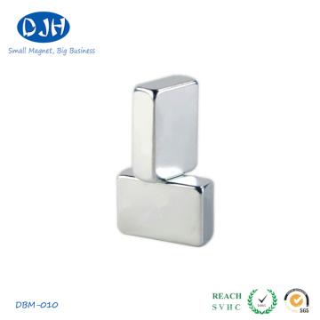 50 * 30 * 8mm N42 Seltene Erdenmaterialien NdFeB Magnet