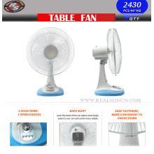 Ventilateur de table de ventilateur de table 9/12/16 pouces avec minuterie de 120 minutes