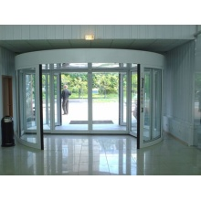 Commercial Twisted Automatic Revolving Doors