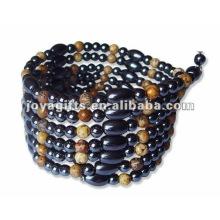 "Magnético Beaded wrap Bracelets & Necklace 36 """