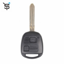 High quality OEM 2button black remote car key remote key for Toyota with 304 MHZ YS2020116
