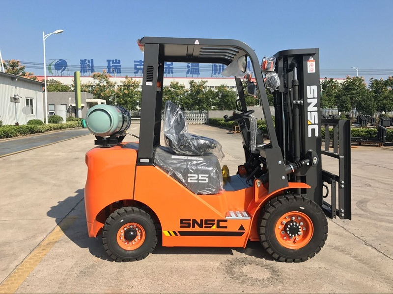 2.5 ton lpg gas forklift to Mexico from sheri (2)