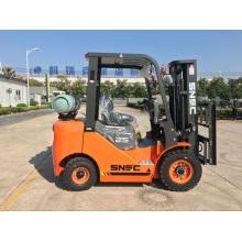 2500Kg Duel Fuel Forklift With Nissan Gas Engine