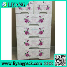 Diseño láser de flores, película de transferencia de calor para la caja de clasificación