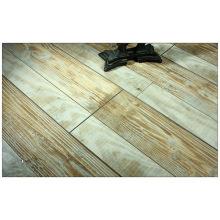 Piso laminado acanalado en V raspado en madera comercial del 12.3mm