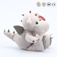 Wholesale 9 and 15 inch green plush dragon stuffed toys