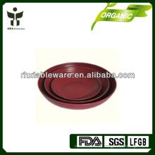 Conjuntos de bambú de la placa de la fibra del eco