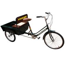 Bicicleta de tres ruedas económica para mayores (FP-TRCY027)