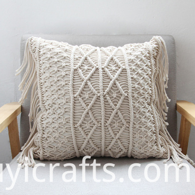 Macrame Pillow Cover