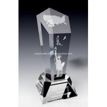 Американский дух Кристалл трофей награды (SPR7)