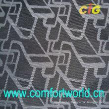 Плетение ткани жаккард авто с склеивание минусовки