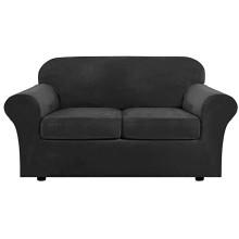 Textiles para el hogar Fundas elásticas para sofá de dos plazas
