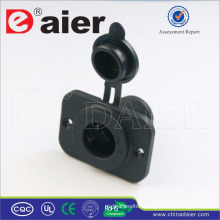 Fixed Plate Truck/Jeep 12V DC Power Outlet Socket, Marine Plug and Socket-