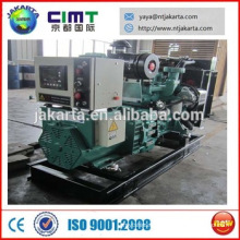 diesel engine motor generator with daily fuel tank