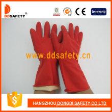 Guante rojo Latexhousehold -DHL301
