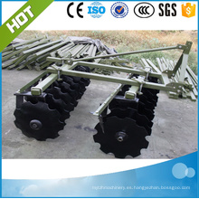 Maquinaria agrícola 1BQX-1.7 (18pcs) grada de discos ligera montada en 3 puntos